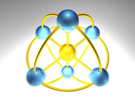 node: spherical network node