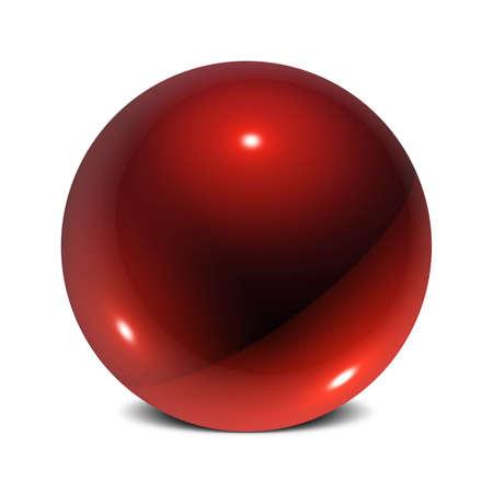 Drei Dimensional Sphere der reflektierenden Oberfl�chen mit 3 Points of Light