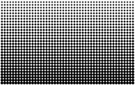 ハーフトーンに触発されたベクトルの背景パターンをオフセット