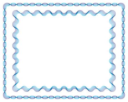 Guilloche Vector Frames (line strokes are editable) Vector