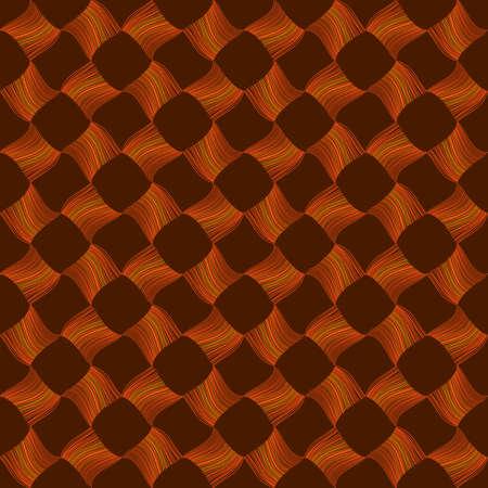 fibres: Pattern of Fibers (stroke widths are editable) Illustration