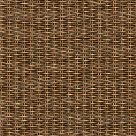 Warenkorb Woven nahtlose Muster-Illustration