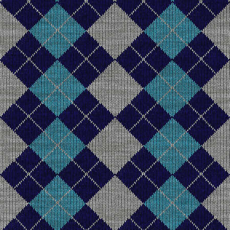 Illustration of Plaid Seamless Pattern Commonly Found in Sweaters Stock Illustration - 5832243