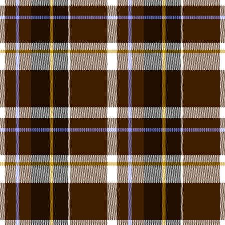 Abbildung der Herbst Tartan Stoff nahtlose Muster - Original Muster-Design