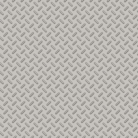 bumped: Illustration of Bumped Metal Plate Seamless Pattern Stock Photo