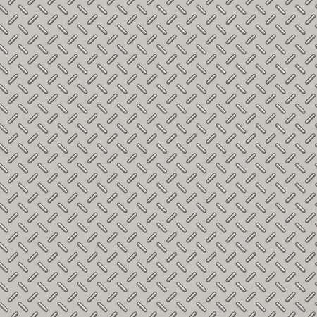 Illustration of Bumped Metal Plate Seamless Pattern Stock Photo