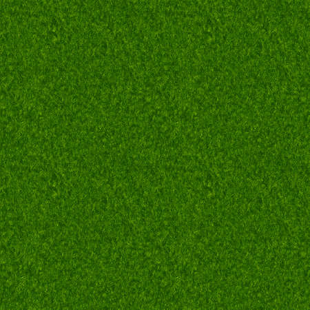 Realistic Illustration of Grass - Seamless Pattern