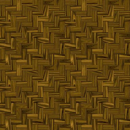 Seamless Texture Illustration Of Teak Wood Parquet Stock Photo