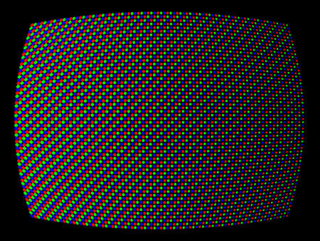 kinetic: Close-up Vector Illustration of TV Imaging System (RGB)