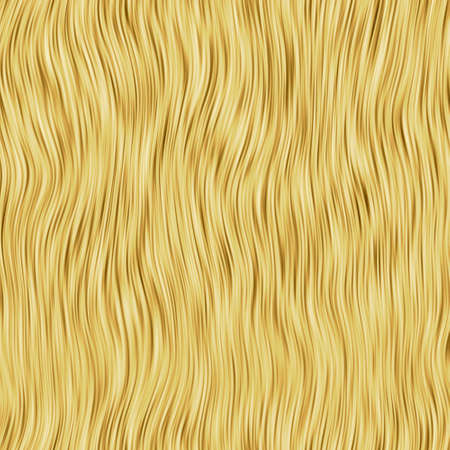 texture capelli: Illustrazione di bitmap realistico di capelli umani