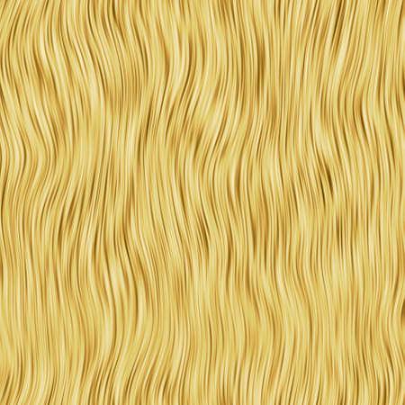 tinte cabello: Realista de mapa de bits ilustraci�n del cabello humano