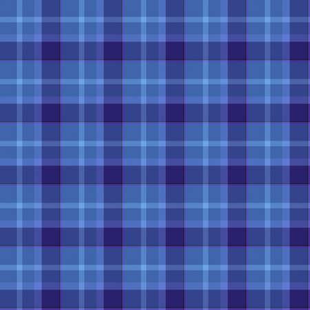 Blue Colored Bitmap Tartan Cloth Seamless Pattern photo