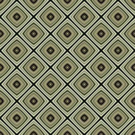seventies: Geometric Retro Design Style Wallpaper Seamless Pattern