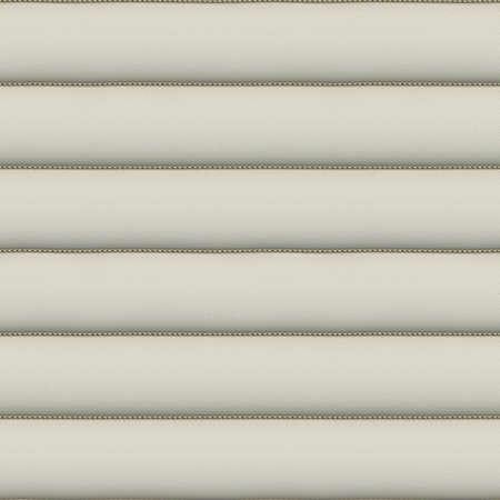 hyper: White Upholstery Leather Seamless Pattern - Hyper Realistic Illustration