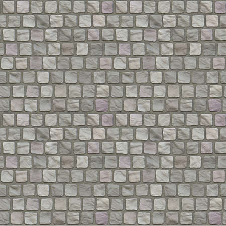 hyper: Cobblestone Floor Seamless Pattern - Hyper Realistic Illustration