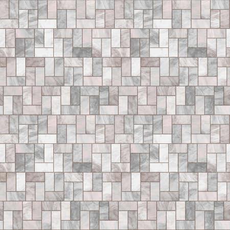 stone floor: Stone Floor Seamless Pattern - Hyper Realistic Illustration Stock Photo