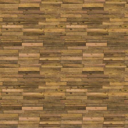 Old Wooden Floor Seamless Pattern - Realistic Bitmap Illustration Stock Illustration - 12941131