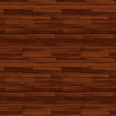 Wooden Floor Seamless Pattern - Realistic Bitmap Illustration Stock Illustration - 12941167