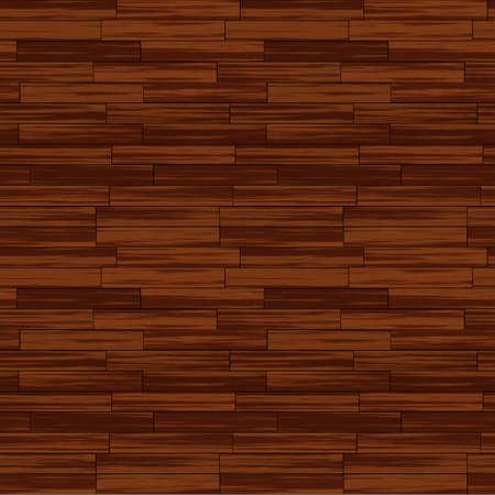 Wooden Floor Seamless Pattern - Realistic Bitmap Illustration illustration
