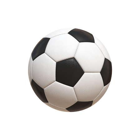 hyper: Soccer Ball Hyper Realistic Illustration