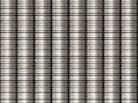 pile of coins: Silver Stacked Coins Background