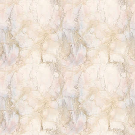 Pink and Peach Marble Seamless Pattern Illustration