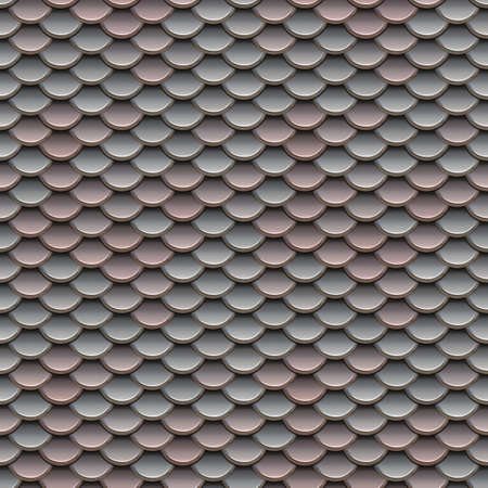 animal scale: Pink and Silver Scales Seamless Pattern Illustration Stock Photo