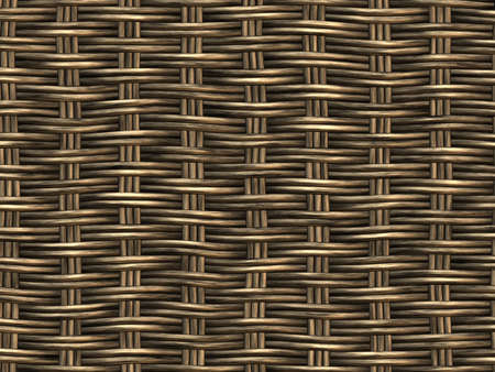 meshwork: Basket Woven Seamless Background Hyper-Realistic Illustration  close-up detail  Stock Photo