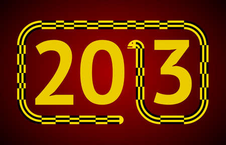 replacing: Yellow and Black Snake Replacing the Number 1 in 2013