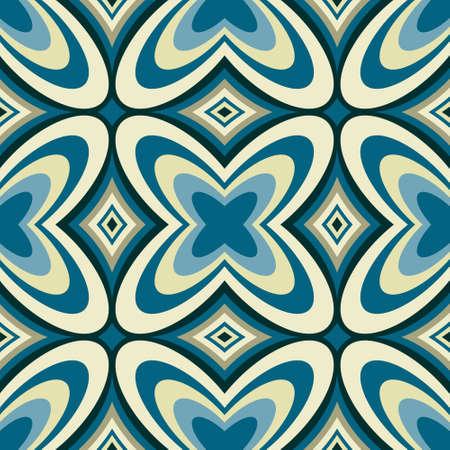 Retro Geometric Wallpaper Abstract Seamless Pattern Stock Vector - 18099094