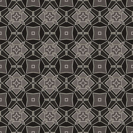 bitmaps: Geometric Stone Floor Wall Seamless Pattern Illustration
