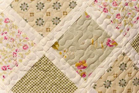 quilt: Quilt Detail Close-up Photograph