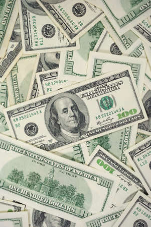 us currency: 100 Dollar Bills Background Vertical Photo