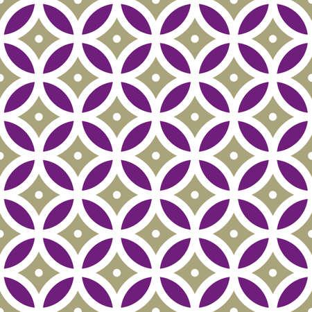 Vintage geometrico Seamless Pattern illustrazione vettoriale Vettoriali