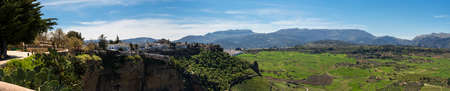 ronda: Panoramic Photo of Tajo Valley in Ronda, Spain