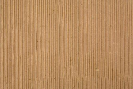 Einbuchtung: Corrugated Recycled Cardboard Texture Foto (vertikalen Rillen) Lizenzfreie Bilder