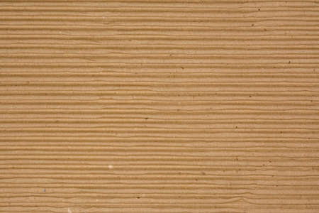 indentation: Corrugated Recycled Cardboard Texture Photo (horizontal grooves)