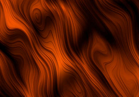 ripples: Orange Ripples Abstract Background Bitmap Illustration