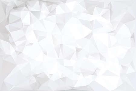 geometria: Off White poligonal ilustración abstracta del fondo Vectores