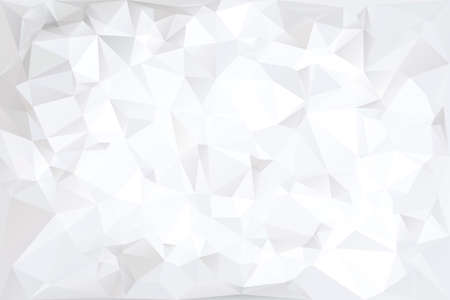 Off White Polygonal Abstract Background Illustration Çizim