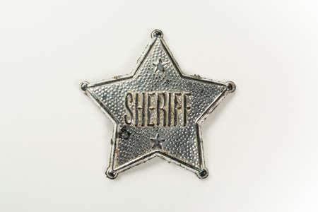 sheriff badge: