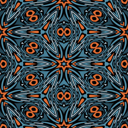 coloured background: Abstract Seamless Pattern Vector Illustration Stock Photo