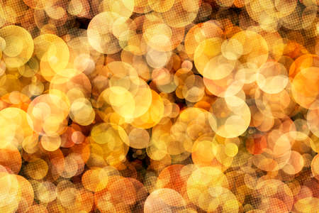 abstract illustration: Bokeh Abstract Background With Halftone Pattern Illustration