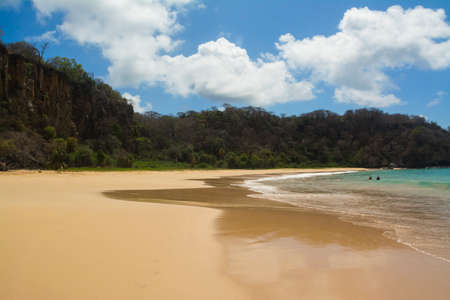 Baia do Sancho Beach in Fernando de Noronha Island, Brazil