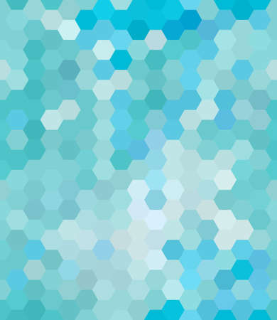 Hexagons Seamless Pattern Background Vertical Vector Illustration