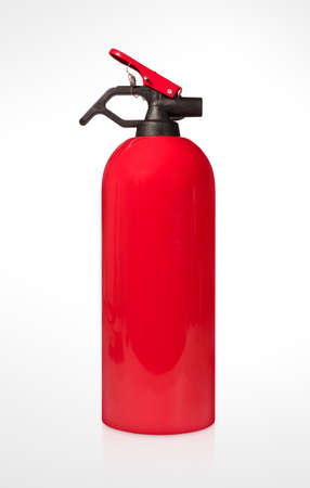 Small Fire Extinguisher Isolated on White Background (with clipping path)