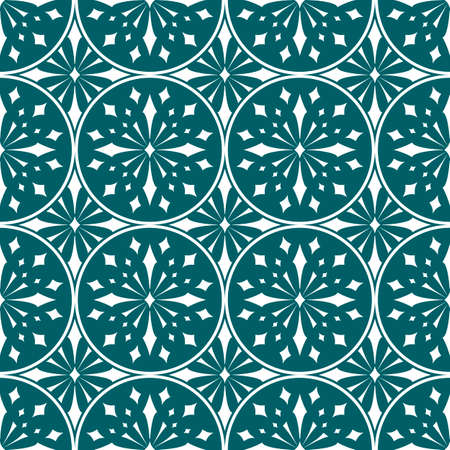 Ancient / Traditionally Inspired Seamless Pattern Vector Illustration