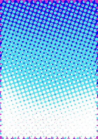 Halftone Pattern Abstract Vertical Background Vector Illustration