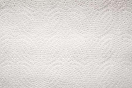Weißes Papierhandtuch Textur Hintergrund Horizontales Foto Standard-Bild
