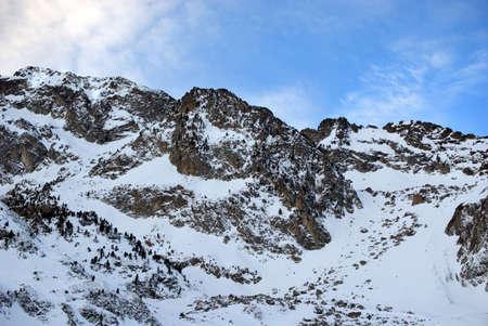 Ups der Nähe von Berggipfeln  Standard-Bild - 2834366
